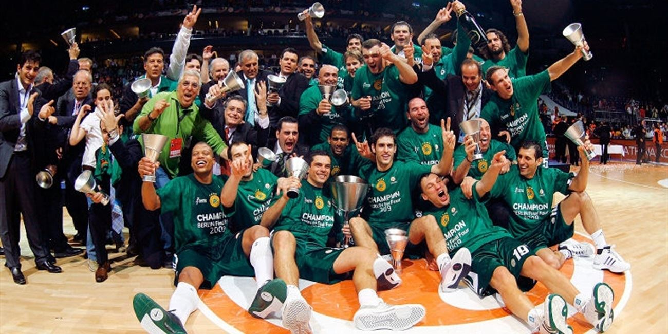 Panathinaikos Athens is the Euroleague Basketball champion for 2009!