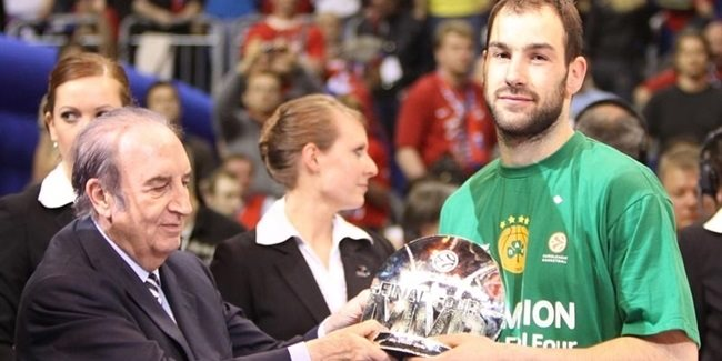 Vassilis Spanoulis was named Final Four MVP