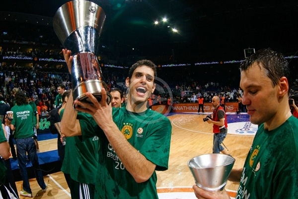Dusan Sakota - Panathinaikos Champ 2008-09 - Final Four Berlin 2009