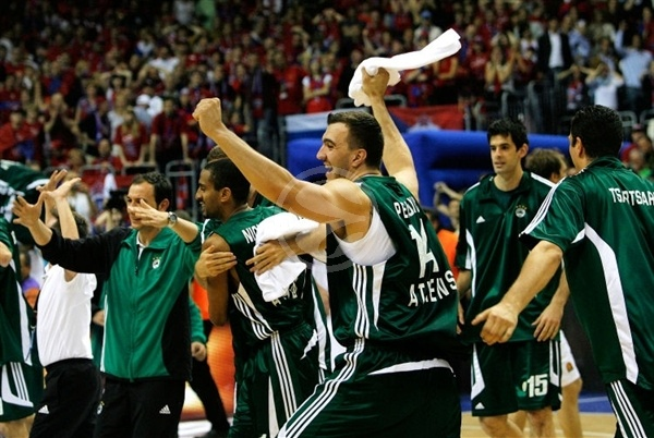 Nikola Pekovic - Panathinaikos Champ 2008-09 - Final Four Berlin 2009