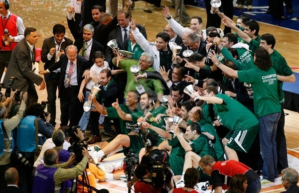 Panathinaikos Champ 2008-09 - Final Four Berlin 2009