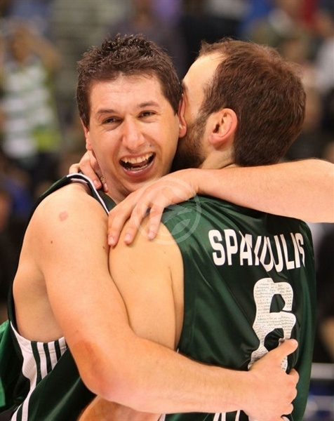 Dimitris Diamantidis - Panathinaikos Champ 2008-09 - Final Four Berlin 2009