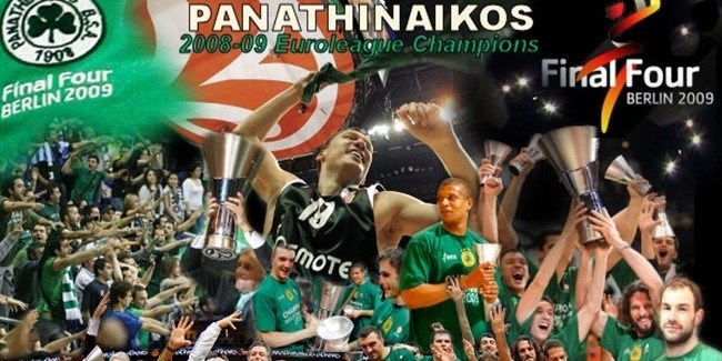 Tribute to the champs 2008-09: Panathinaikos!