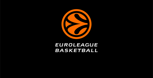 Euroleague Basketball black logo