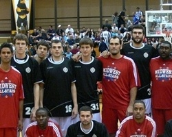Partizan poses during U.S. tour