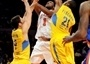 Wilson Chandler - New York Knicks - Euroleague American Tour 2009, vs. Maccabi Electra