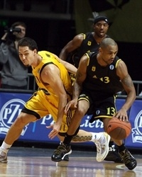 Juan Dixon - Aris BSA (Photo Gintaras Siuparys)