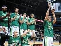 Zalgiris, 2009-10 Baltic League champion (photo: fotodiena.lt)