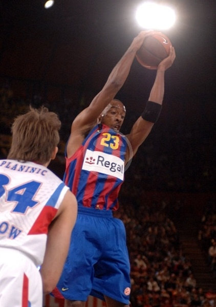 Terence Morris - Regal FC Barcelona - Final Four Paris 2010