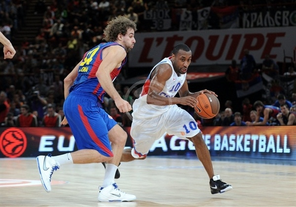 JR Holden - CSKA Moscow - Final Four Paris 2010