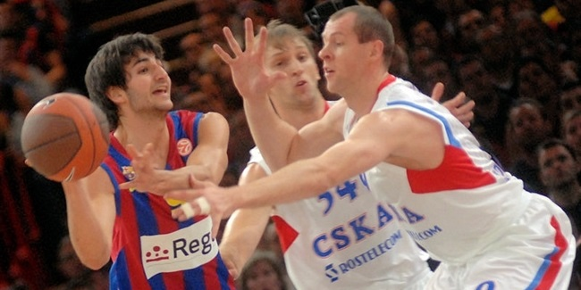 Barca tops CSKA, advances to title game