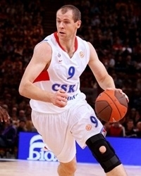 Ramunas Siskauskas - CSKA Moscow - Final Four Paris 2010