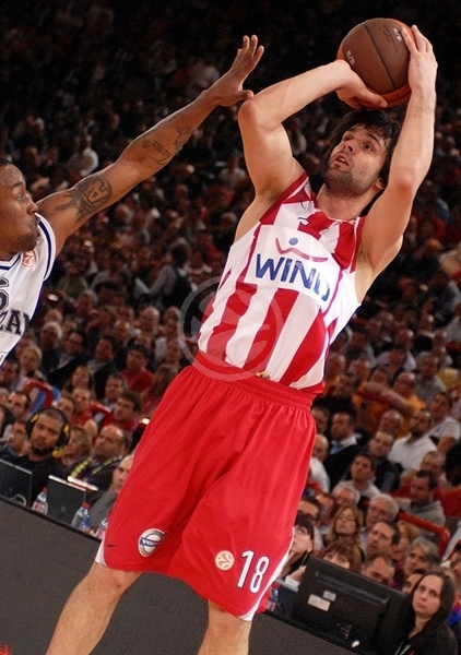 Milos Teodosic - Olympiacos - Final Four Paris 2010