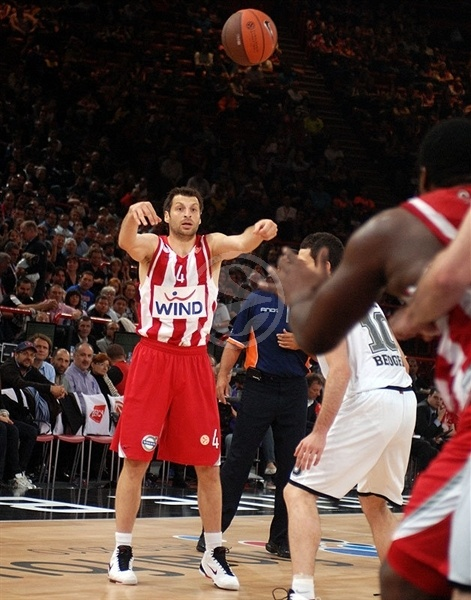 Theo Papaloukas - Olympiacos - Final Four Paris 2010
