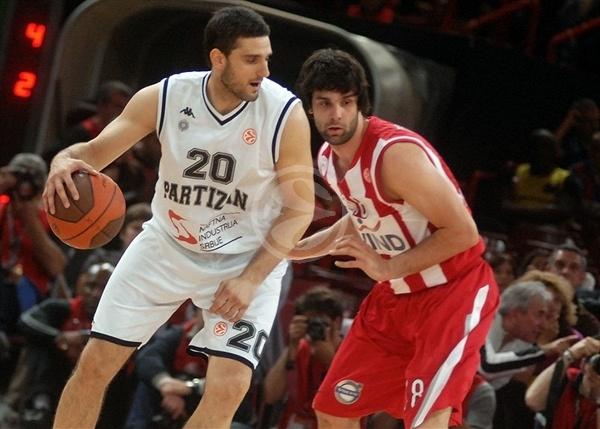 Petar Bozic - Partizan - Final Four Paris 2010