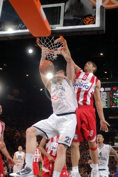 Aleks Maric - Partizan - Final Four Paris 2010