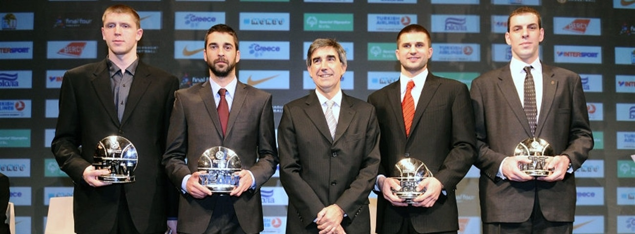 MVP and All-Euroleague team 2009-10