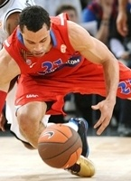 Trajan Langdon - CSKA Moscow - Final Four Paris 2010