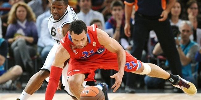 CSKA Moscow survives Partizan for third