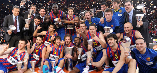 Regal FC Barcelona - champion Final Four 2010