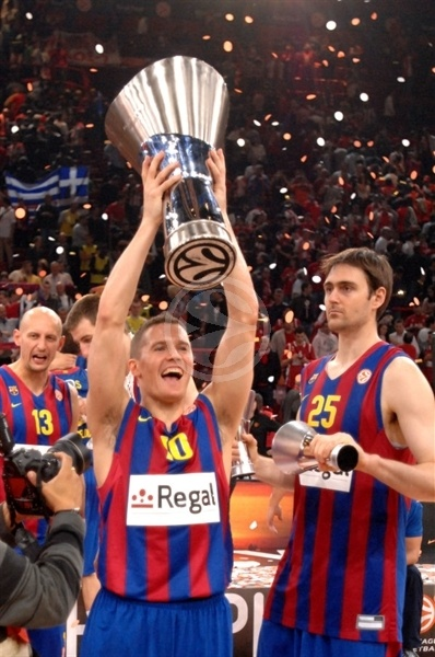 Jaka Lakovic - Regal FC Barcelona Champ - Final Four Paris 2010