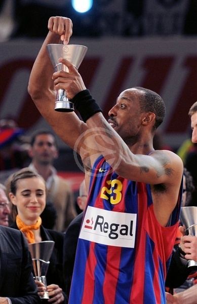 Terence Morris - Regal FC Barcelona Champ - Final Four Paris 2010