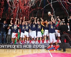 Caja Laboral Champ Spanish League 2010 (photo www.acb.com)