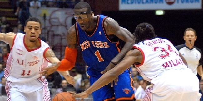 Hapoel Jerusalem makes splash by signing Stoudemire