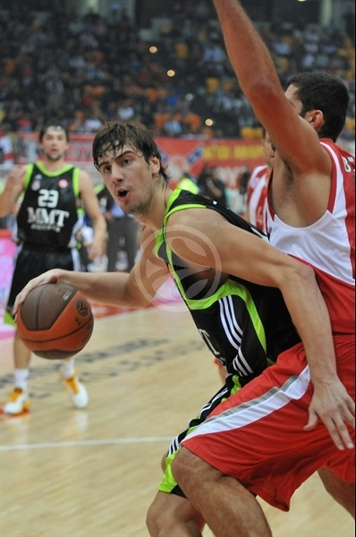 Ante Tomic - Real Madrid - Opening Game Euroleague 2010-11