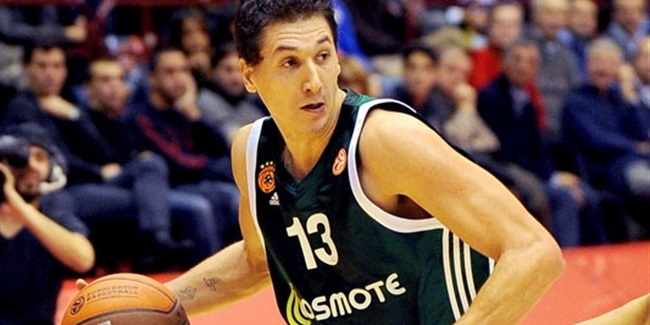 Sportingbet Week 3 MVP: Dimitris Diamantidis, Panathinaikos