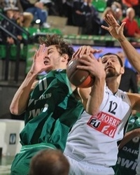Donatas Motiejunas - Benetton Bwin (photo benettonbasket.it)