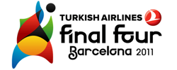Turkish Airlines, Final Four, Barcelona 2011