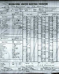 Scoresheet: OKK Belgrade  vs. Alvik