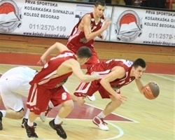 Players JT FMP vs. Partizan (photo KK FMP)