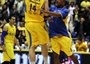 Milan Macvan and Derrick Sharp celebrates - Maccabi Electra
