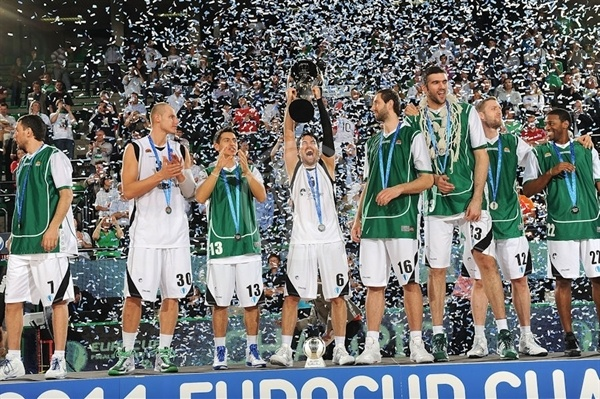 Unics is the new Eurocup Champ - Finals Treviso 2011
