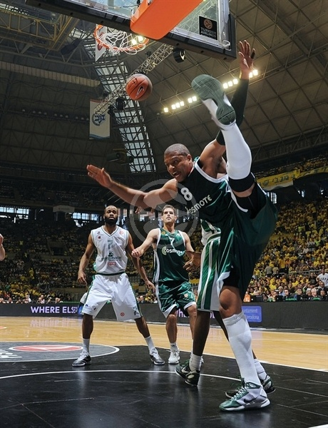 Mike Batiste - Panathinaikos - Final Four Barcelona 2011