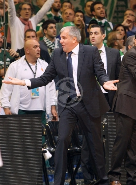 Zeljko Obradovic - Panathinaikos - Final Four Barcelona 2011