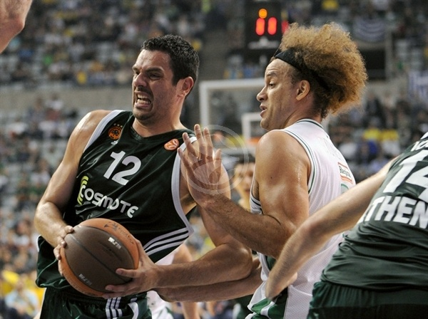 Kostas Tsartsaris - Panathinaikos - Final Four Barcelona 2011