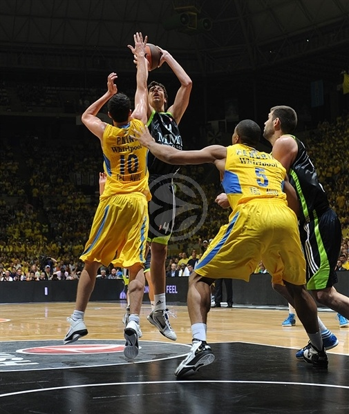 Ante Tomic - Real Madrid - Final Four Barcelona 2011