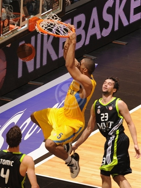 Richard Hendrix - Maccabi Electra - Final Four Barcelona 2011