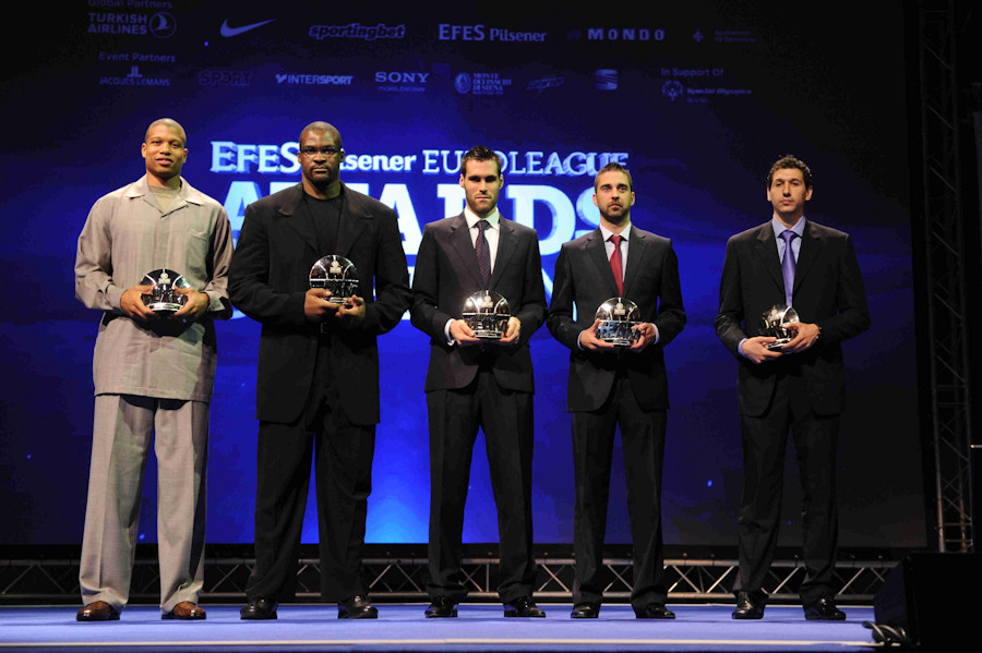 All-Euroleague team 2010-11 - Final Four Barcelona 2011_32725