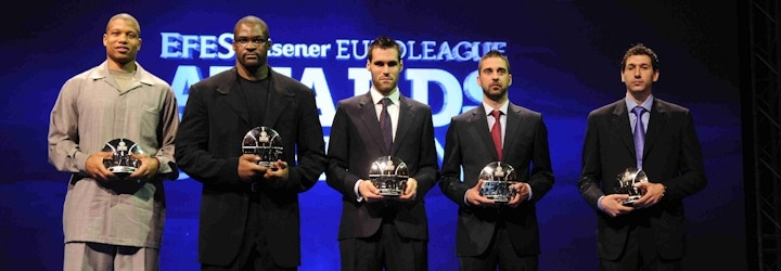 All-Euroleague team 2010-11 - Final Four Barcelona 2011