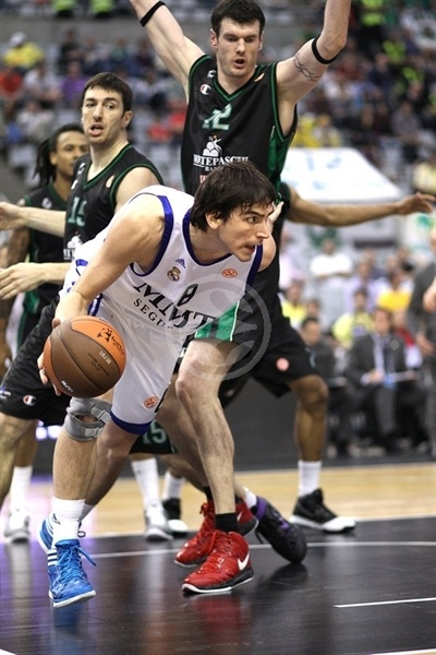 Carlos Suarez - Real Madrid - Final Four Barcelona 2011