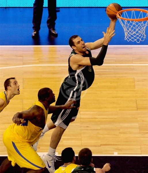 Aleks Maric - Panathinaikos - Final Four Barcelona 2011