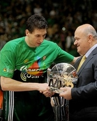 Dimitris Diamantidis MVP Final Four Barcelona 2011