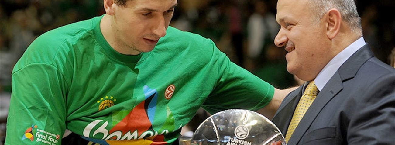 Diamantidis is Sportingbet MVP of the Final Four