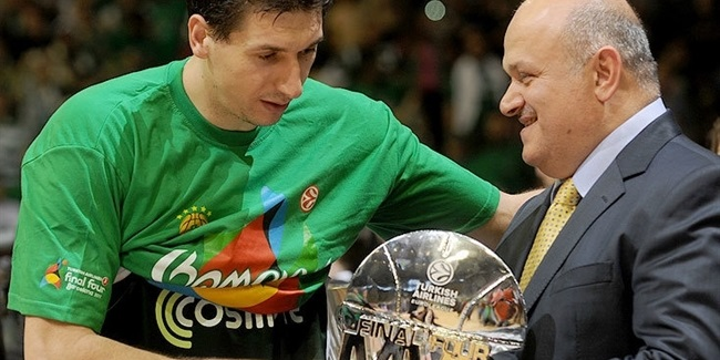 Dimitris Diamantidis, chosen MVP of the Final Four