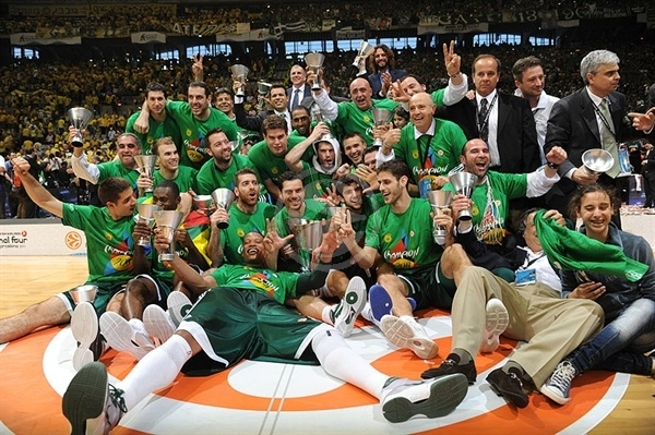 Panathinaikos, 2010-11 Turkish Airlines Euroleague champions!!
