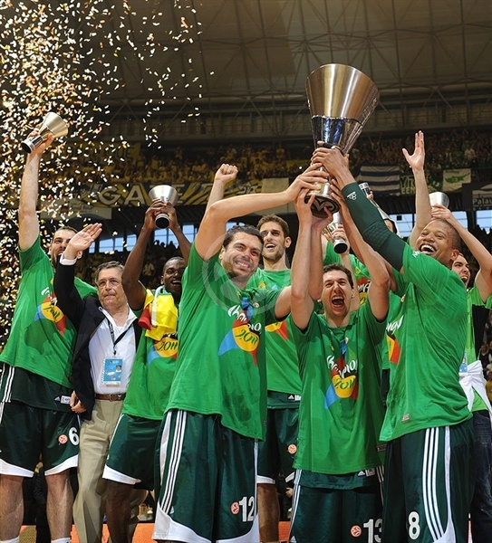 Panathinaikos in new Champ Euroleague 2010-11!